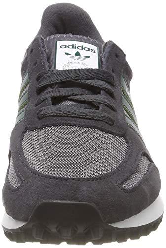 Collegiate de S18 S18 Grey Green F17 Carbon Deporte Grey Carbon Collegiate Trainer Gris Zapatillas Adidas Hombre Five F17 para La Green Five t4FwnqT