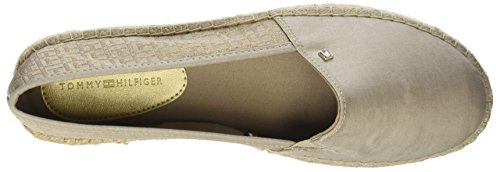 Tommy Hilfiger Damen Th Modello Espadrille Gold (mekong 709)