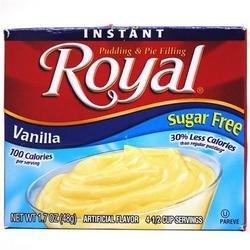 *Royal Sugar Free Vanilla Instant Pudding & Pie Filling 1.7 oz