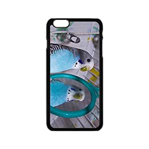 Parrot Looking At The Mirror Hight Quality Plastic Case for Iphone 6