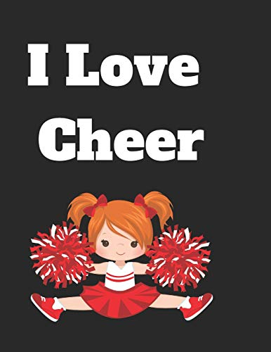 I love cheer: lined journal or notebook por Dope Conversations