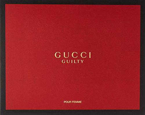 Gucci Guilty by Gucci for Women 3Piece Set Includes: 2.5 oz Eau de Toilette Spray + 3.3 oz Perfumed Body Lotion + 0.25 oz Eau de Toilette Fragrance Pen Spray by Gucci (Image #2)