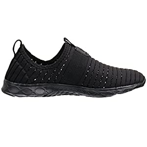 Water Sport Shoes Aleader Women's Tennis Walking Shoes Black 9 D(M) US