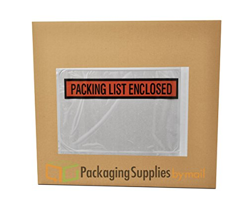 Packing List - Panel Face Packing List Envelopes PLE-PP510, Packing List Enclosed, 10