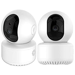 Wireless Security Camera with Two-Way Audio 720P HD WiFi Security Surveillance IP Cam Home Baby Monitor with Motion Detection Night Vision