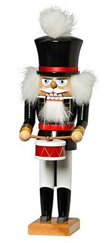 KWO Nutcracker Drummer, 32 cm (German Nutcracker Kwo)