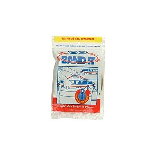 Hold It Products Band It Trash Can Loops, 32-55 gal, Case of 36