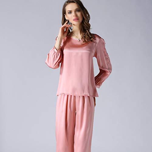 Ropa Para Xxl xxl Loungewear Mujer 04 Satén Shizheshop De L Pijamas color Cómoda Size Seda 02 Dormir YZxwIn1pA