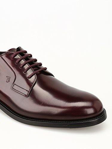 Tods Derby in Pelle Spazzolata Rosso XXM0XR0H370AKT