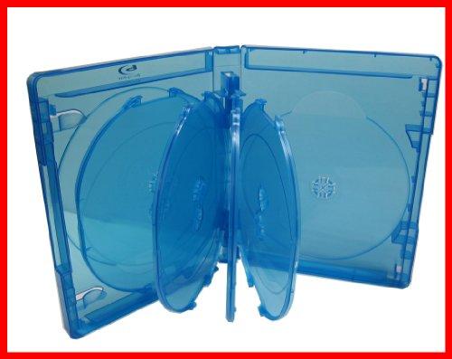 2 Pk Blu-ray Multi Case 9 Tray (Holds 9 Discs) Viva Elite (Pack of 2)