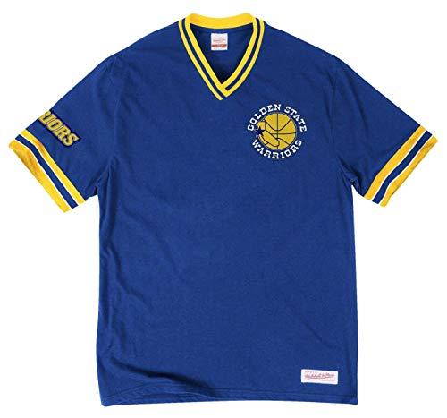 Mitchell & Ness Men's NBA Hardwood Classics Coaches Jacket (Golden State Warriors, - Nba Jacket Hardwood