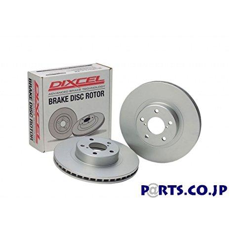 リア用 ブレーキディスクローター PDタイプ GDA インプレッサWRX (NB (A~B型) 00/08~02/10) 【ディクセルオリジナルステッカープレゼント中】 B072318G1C