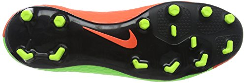 Nike Mens Hypervenom Phelon Iii Fg Scarpe Da Calcio Verdi (elctrc Verde / Nero-iper Arancio-volt)