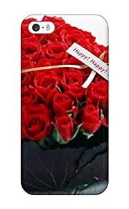 Protective PC Case With Fashion Design Case For HTC One M7 Cover (happy Happy Roses)