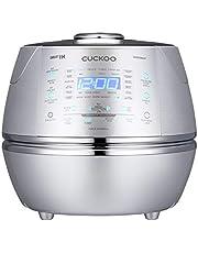 CUCKOO CRP-DHSR0609F Stoom Druk Rijst Cooker 1080ml 6 kopjes | IH Inductie Verwarmings Technologie | Programmeerbaar | GABA Rijst | DSP Technologie | Veiligheid Stoom Klep