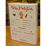 Baby Shower Predictions and Advice Cards - Fun Guessing...