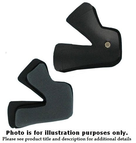 Symax Cheek Pads - HJC Helmets Replacement Cheek Pads For Symax II Extra Small XS
