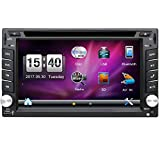 Cheap YUNTX Double Din 6.2 Inch Car Stereo Wince 6.0 in Dash GPS Navigation with Backup Rear Camera,Support DVD/CD/MP3/MP4/USB/SD/AM/FM/RDS Radio/Audio