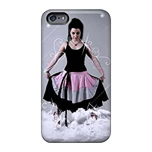 Durable Cell-phone Hard Cover For Iphone 6plus (dmH6132hpWc) Customized Fashion Evanescence Band Skin