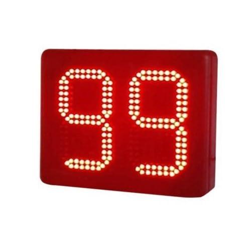 "Godrelish 8 ""2 Digits Lap Counter Semi-outdoor secondes Countdown LED Digital / up Télécommande Minuteur IR"