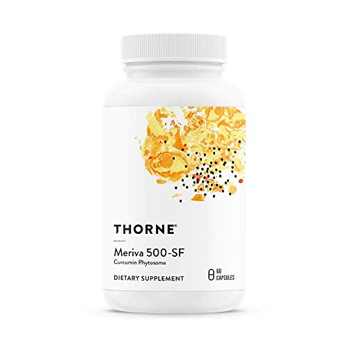 Thorne Research – Meriva 500-SF Soy Free – Curcumin Phytosome Supplement – 60 Capsules