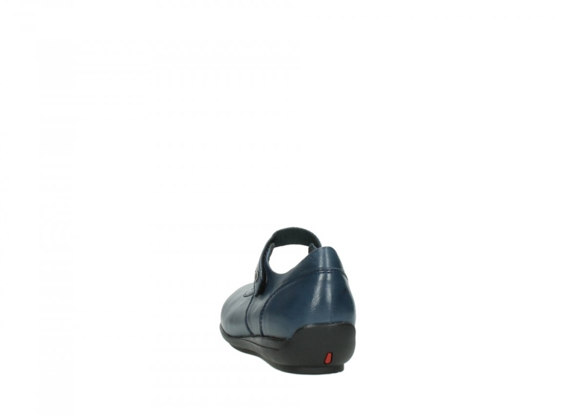 Wolky B01ITOLZHK Comfort Mary Janes Noble B01ITOLZHK Wolky 41 EU 30800 Blue Leather 5cb841