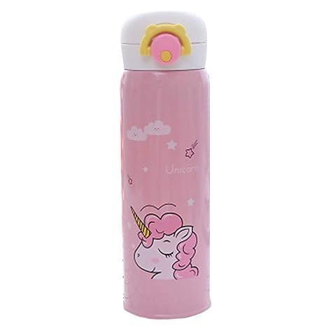 Snner 353ml Taza del Unicornio - Tamiz Thermo Taza Termo - Acero Inoxidable Botella Térmica