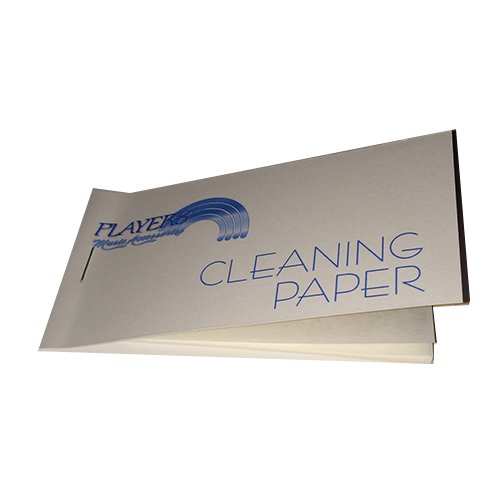 Baritone Saxophone Pad Cleaning Paper - Magic solution for sticky pads
