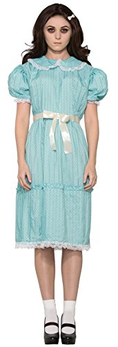 The Shining Twins Costumes (Forum Women's Creepy Sister Costume Dress, Blue, Std)