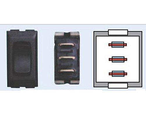 - RV Trailer DIAMOND GRP 12V Momentary On Black Slide Out Switch