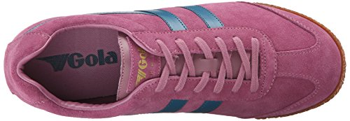 Cla192 Pink Sneaker Gola Fashion Harrier Women's Teal Dusky 1URRY5qpw