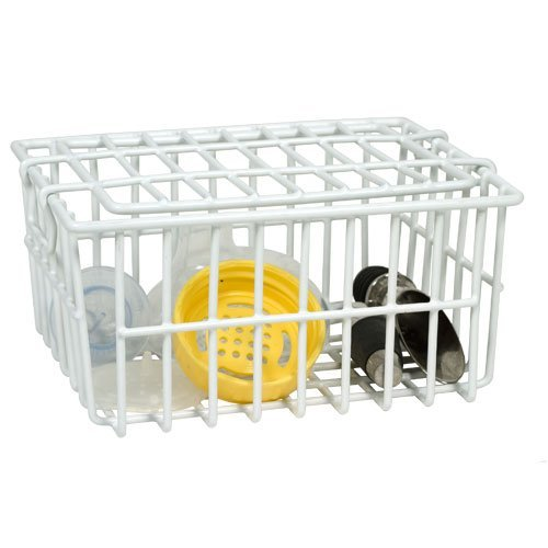 - White Dishwasher Basket by Better Houseware