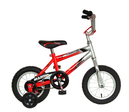 Mantis Lil Burmeister Kid's Bike, 12 inch Wheels, 8 inch Frame, Boy's Bike, Red/Silver -  Cycle Force Group, 63812