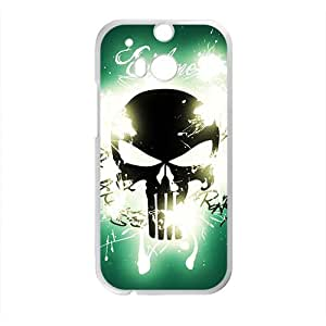 Shining Skull High Quality Custom Protective Phone Case Cove For HTC M8 by runtopwell
