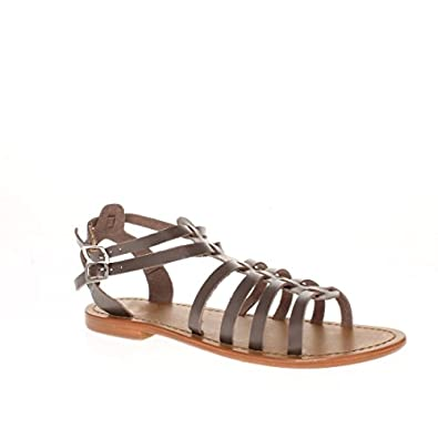 Gris Calank Valentina 41 Taille Sandales Tongs drWCxBeo