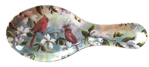 Spoon Rest - Many Styles - Durable Melamine Plastic (Spoon Rest (9.75x4) in, ()