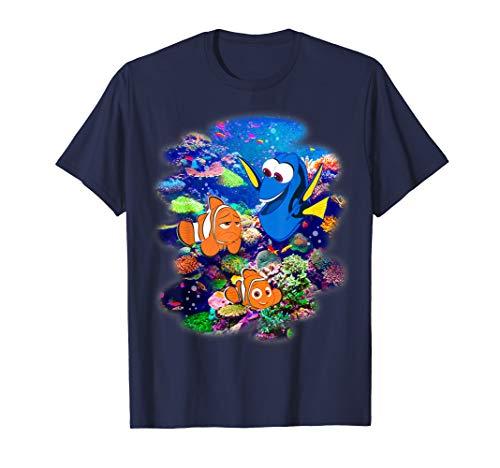 - Disney Pixar Finding Dory Nemo Rainbow Reef Graphic T-Shirt
