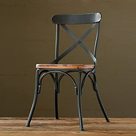 Vintage ferro battuto sedie da pranzo antiche vecchie sedie per bar ...