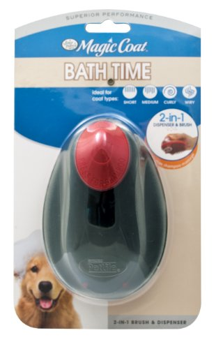 Four Paws 2in 1 Brush - Four Paws Magic Coat Dog Grooming Shampoo 2-In-1 Brush and Dispenser