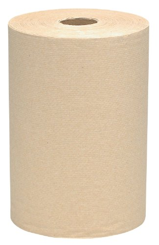 Fiber Ply Recycled 1 - Kimberly-Clark Scott 02031 1-Ply Recycled Fiber Hard Roll Towel, 800' Length x 8