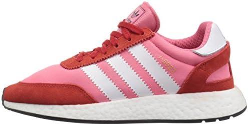 adidas Originals Women's I-5923 Running Shoe, Chalk Pink/White/red, 6 M US