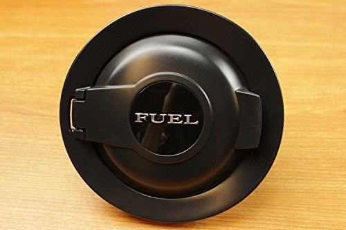 dodge challenger fuel door black - 1