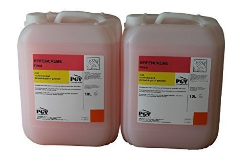 Seife rosa 2 x 10 Liter Kanister, ph-Neutral Seife für Spender