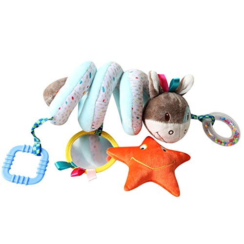 (Licupiee Infant's Developmental Rattles Musical Toys Hung Toy Round The Bed (Asinego))