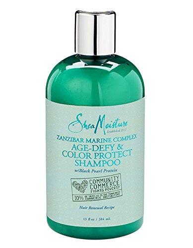Price comparison product image SheaMoisture Zanzibar Complex Protein Age Defy and Color Protect Shampoo 13 Once