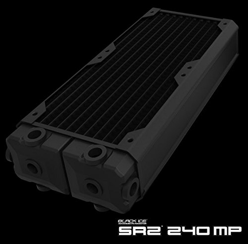 Hardware Labs Black Ice SR2 Multiport Black Carbon Radiator - 240mm