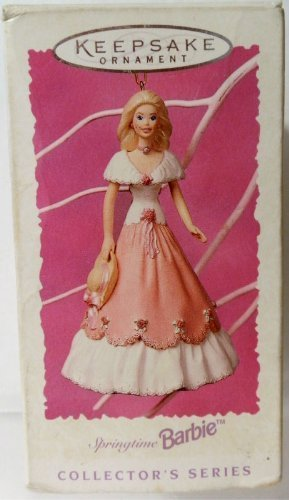 Hallmark Keepsake Spring Ornament Springtime Barbie 3rd and Final in Series 1997