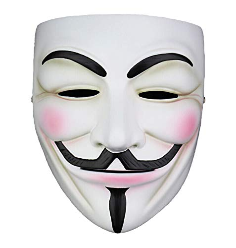 Anon Nation Guy Fawkes Mask with Vinyl Sticker -