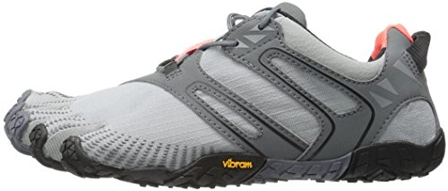 Vibram Women's V Trail Runner Grey/Black/Orange 36 EU/6 M US by Vibram (Image #5)
