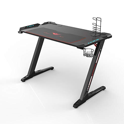 Eureka Ergonomic Z1-S Gaming Desk – Gaming Computer Desk,